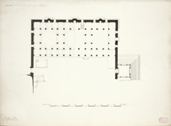 Broach: Plan of the Jami Masjid